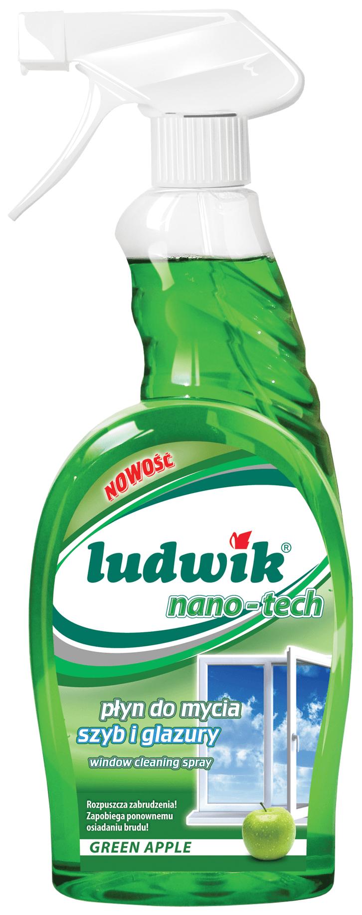 Чистящее средство для стекол и зеркал Ludwik