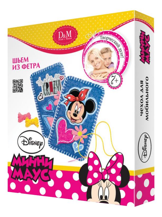 Набор Шьем из фетра чехол для телефона Минни Маус-модница Делай с мамой 53926 фото
