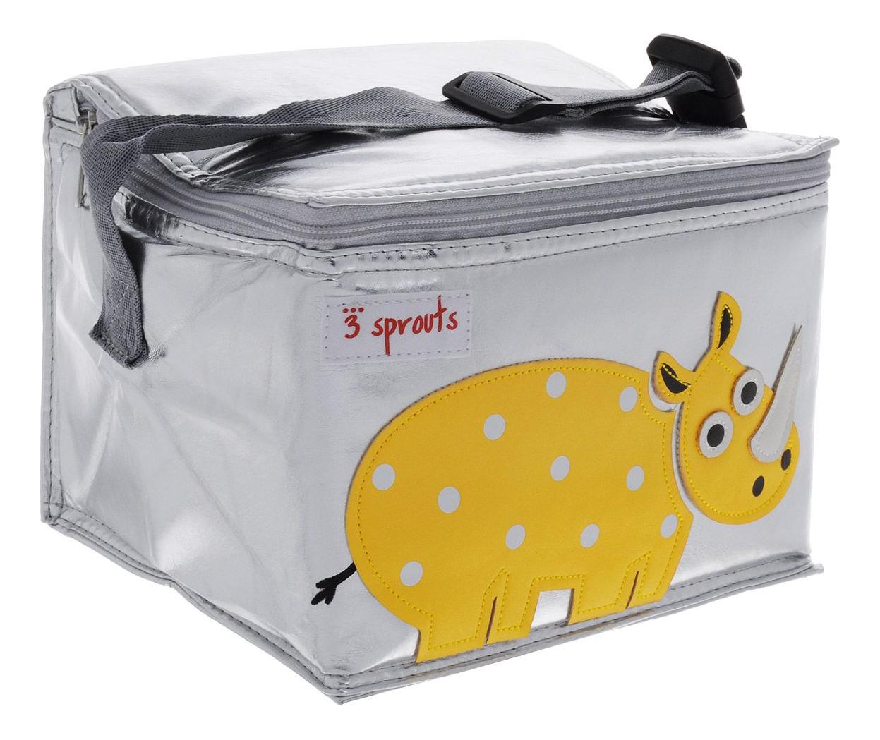 Термосумка для детского питания 3 sprouts Носорог желтый