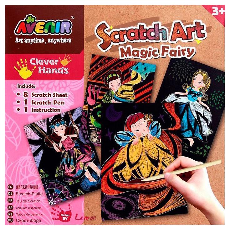 Набор для рисования Avenir Волшебные феи CH1256 фото