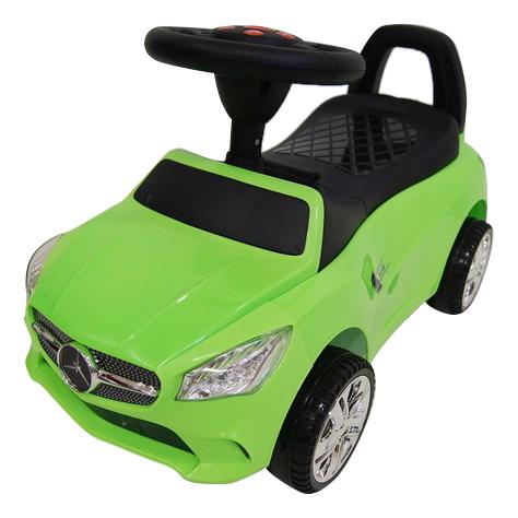 Купить Средняя, Толокар Audi зеленый RIVERTOYS, Каталки детские