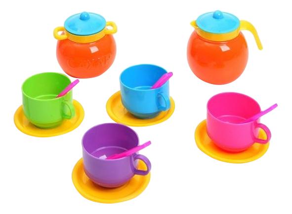 Купить Детская посуда Чайный набор Стеллар Р62452, STELLAR, Игрушечная посуда