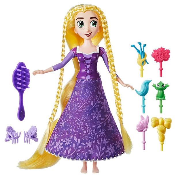 Кукла Disney Princess Рапунцель Кукла с модной прической 20,5 см