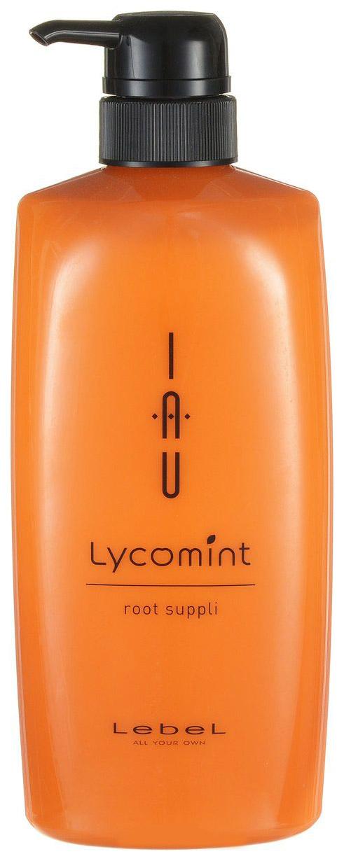 Купить Крем для волос Lebel Питательный и увлажняющий Счастье для волос 600 мл, IAU Lycomint Root Suppli
