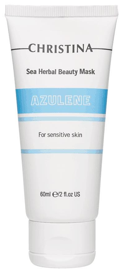 Маска для лица Christina Sea Herbal Beauty Mask Azulene 60 мл фото