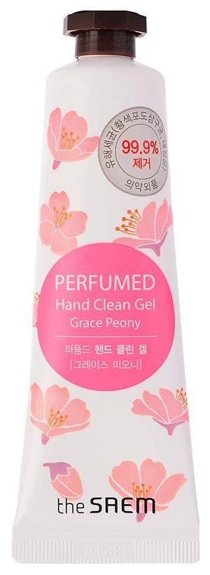 Купить Крем для рук The Saem Perfumed Hand Clean Gel Grace Peony 30 мл