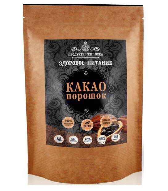 Какао-порошок Продукты XXII века натуральный 400 г фото