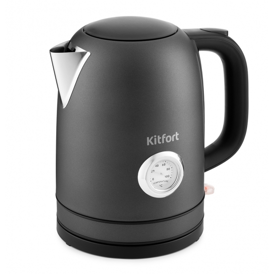 Чайник электрический Kitfort КТ-683-1 Graphite фото