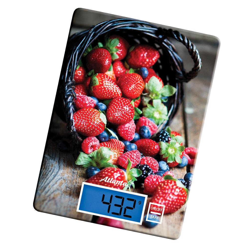 Весы кухонные Atlanta ATH-6214 Red