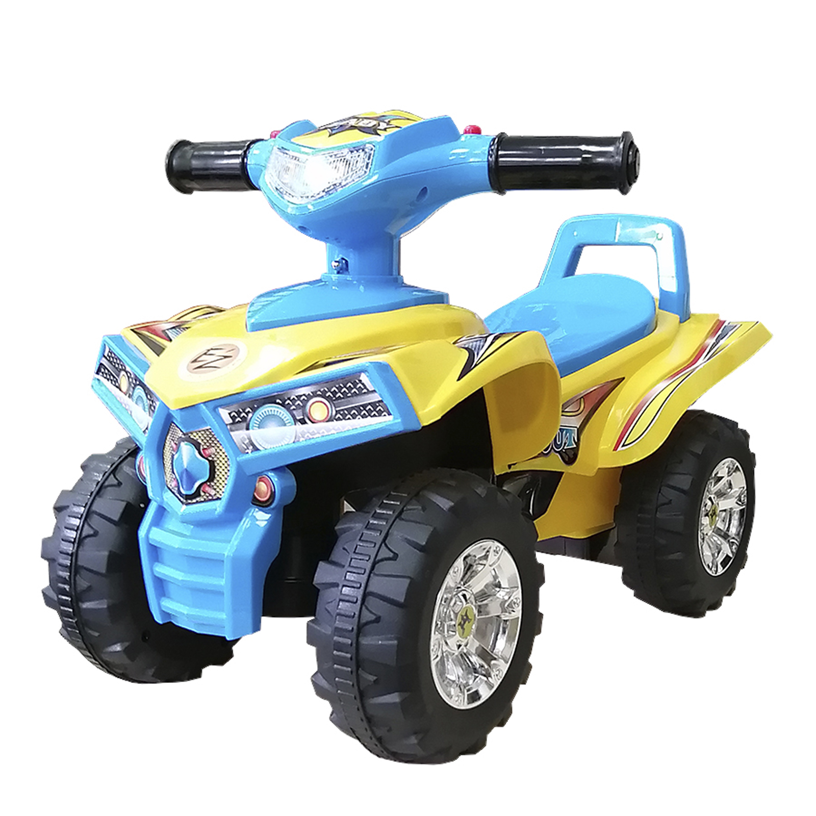 Каталка детская Baby Care Super ATV синяя