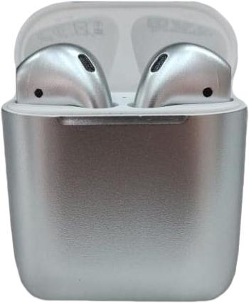 Наушники Apple AirPods Color 2 в футляре с беспроводной зарядкой (Chrome Candy)