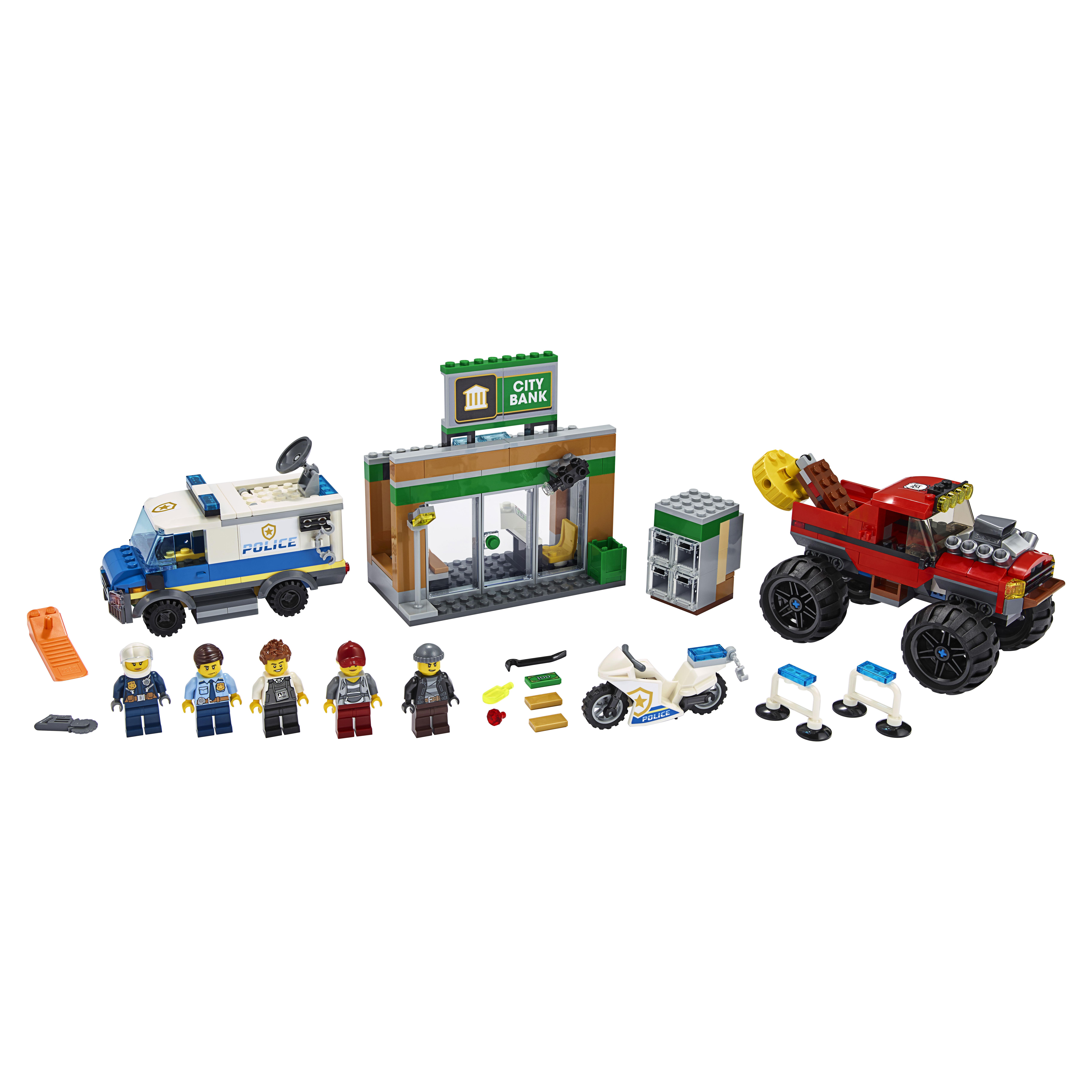 Конструктор LEGO City Police 60245 Ограбление полицейского