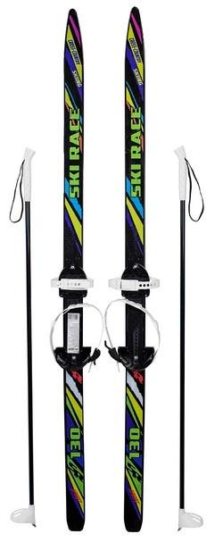 Gratwest Мини лыжи ski race с палками 130 см Gratwest Р68576 фото