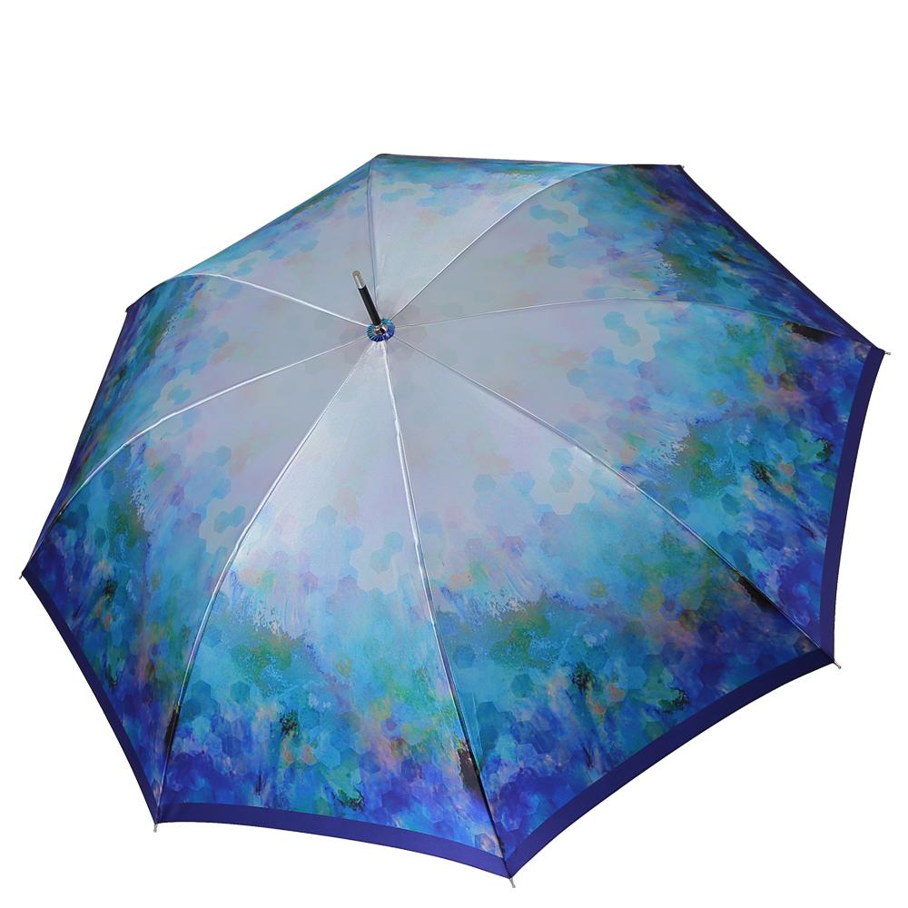 Зонт женский FABRETTI 1901 голубой