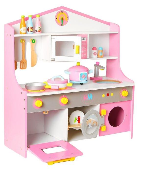 Купить Игровой набор Sima-land универсальная кухня, посудка в наборе, Детская кухня