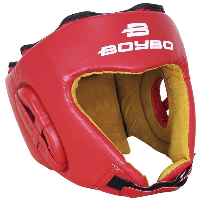 Шлем BoyBo Nylex боевой, цвет красный, размер