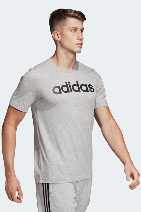 Футболка мужская Adidas DU0409 серая S