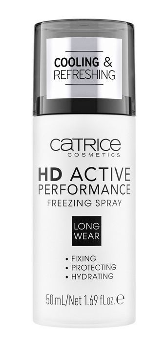Купить Фиксатор макияжа CATRICE HD Active Performance Freezing Spray 50 мл