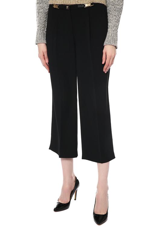Брюки женские Versace Collection FW16 G601411 G34503 черные 38 IT