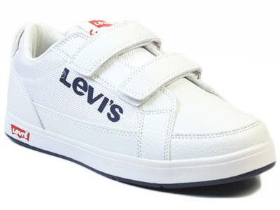 Купить VGRA0005S, Кеды детские Levi's Kids, цв. белый р.34,