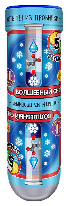 Купить Набор для экспериментов Delta Опыты из пробирки: Волшебный снег 306 пр., Наборы для опытов