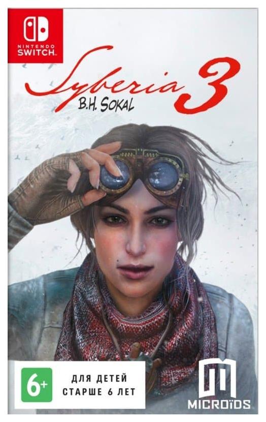 Игра Syberia 3 для Nintendo Switch фото