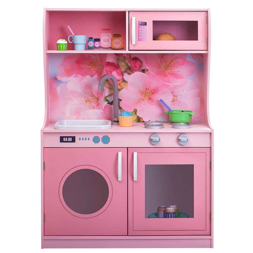Купить Игрушечная кухня Фиори Роуз Мини PAREMO PK218-09, Детская кухня