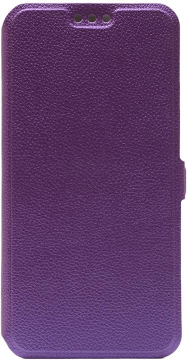 Чехол GOSSO CASES Book Type UltraSlim для Xiaomi Redmi 6A фиолетовый