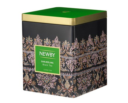 Чай черный Newby дарджилинг в жестяных банках 125 г