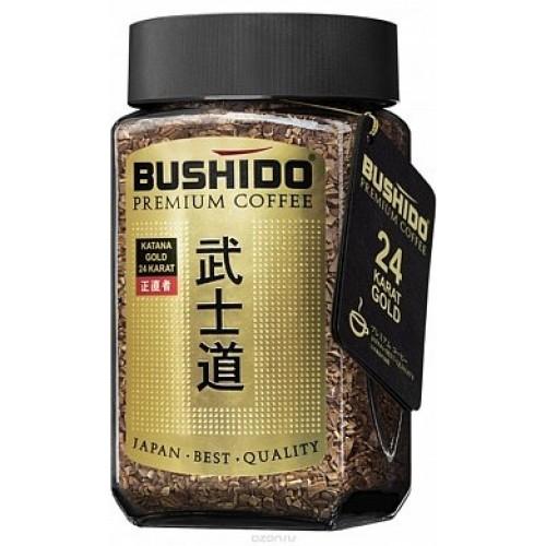 Кофе растворимый Bushido голд 100 г фото