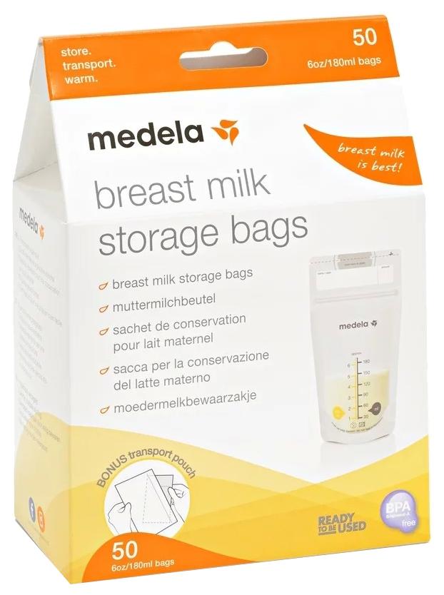 Пакеты одноразовые Medela для хранения грудного молока