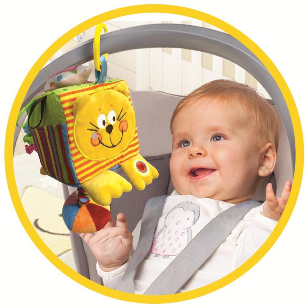 Развивающая игрушка УМКА Кубик Котёнок от 1 года 80 шт