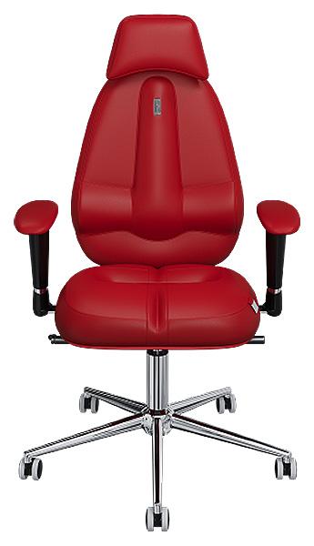 Офисное кресло Kulik System Classic Maxi, экокожа, Красный