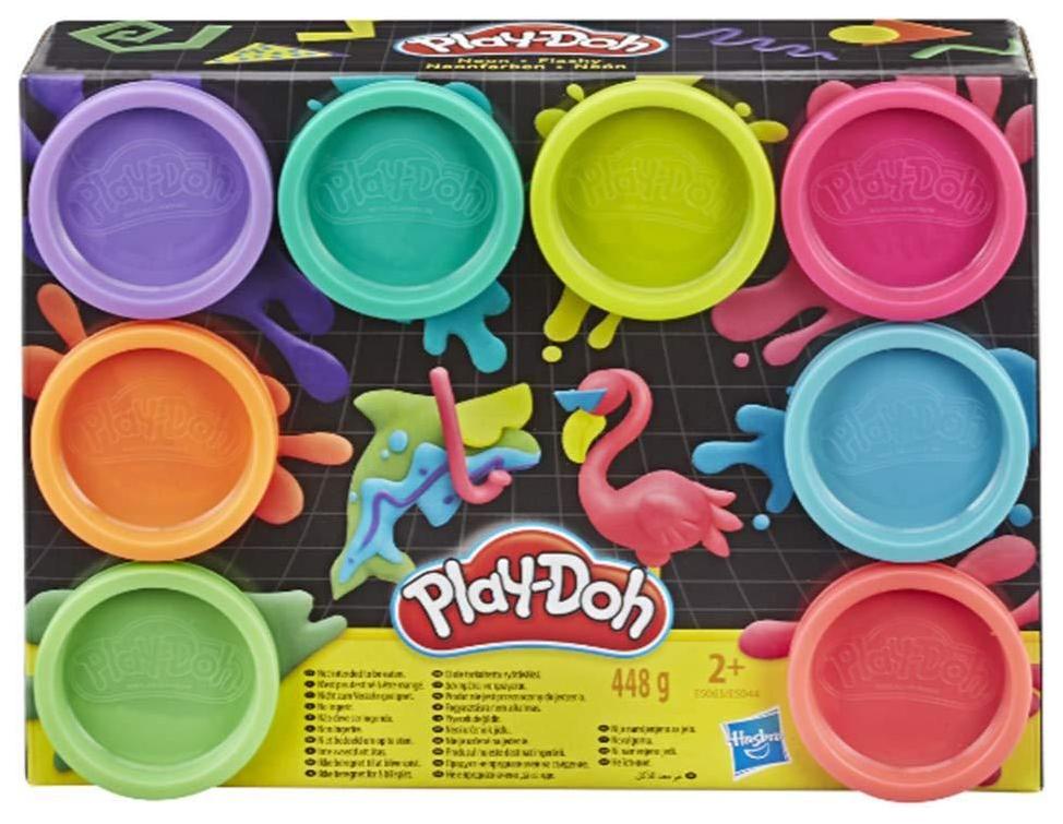Купить Набор пластилина Hasbro Play-Doh 8 цветов, Лепка