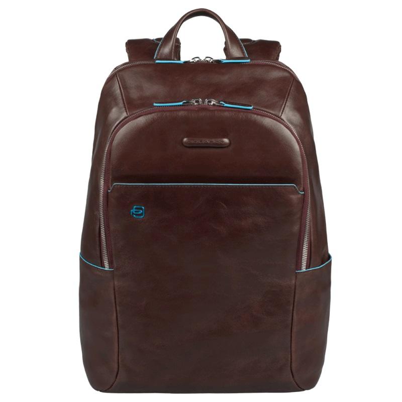 Рюкзак кожаный Piquadro Blue Square кожаный коричневый