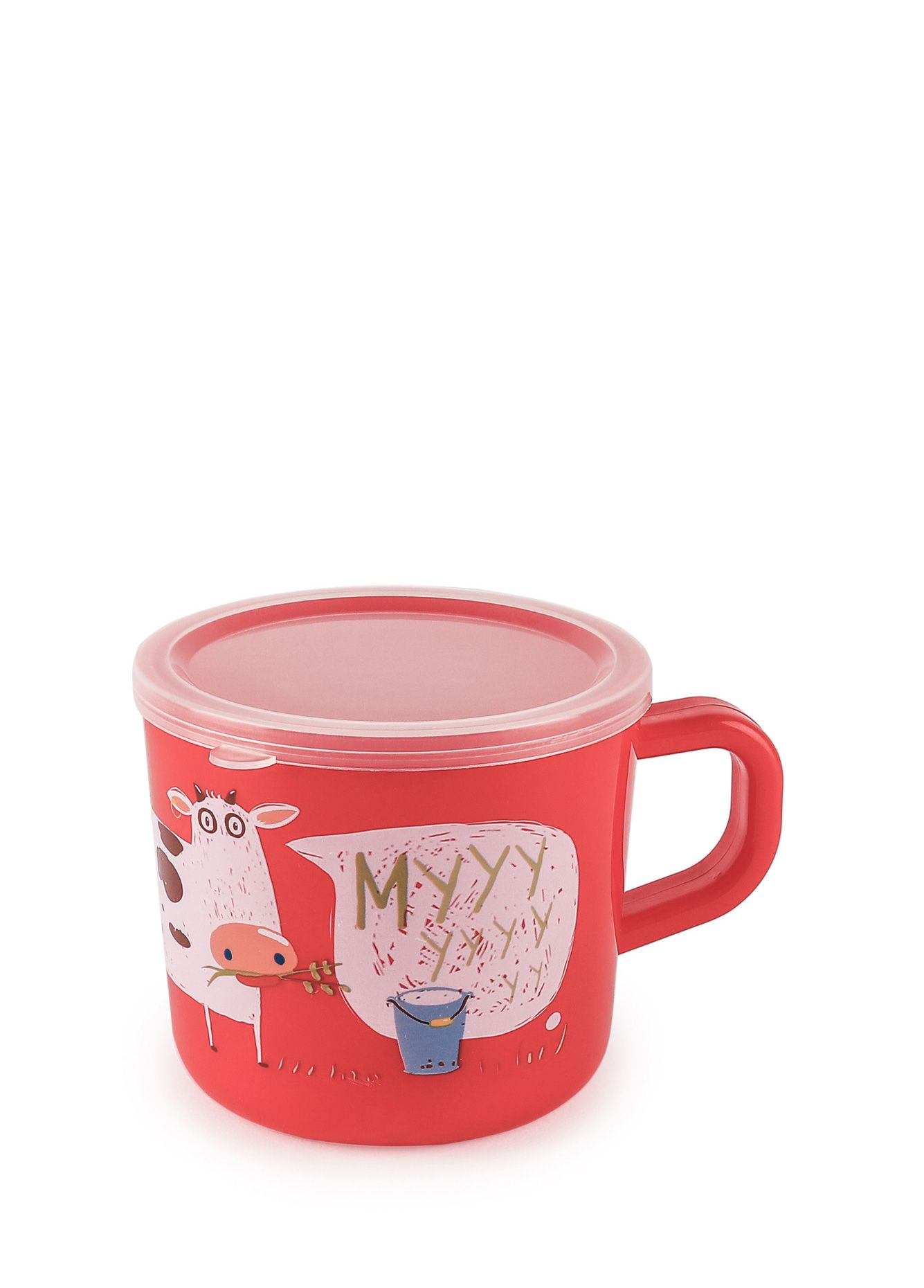 Купить Кружка с ручкой и крышкой Happy Baby Ruby TRAINING CUP, Чашки детские