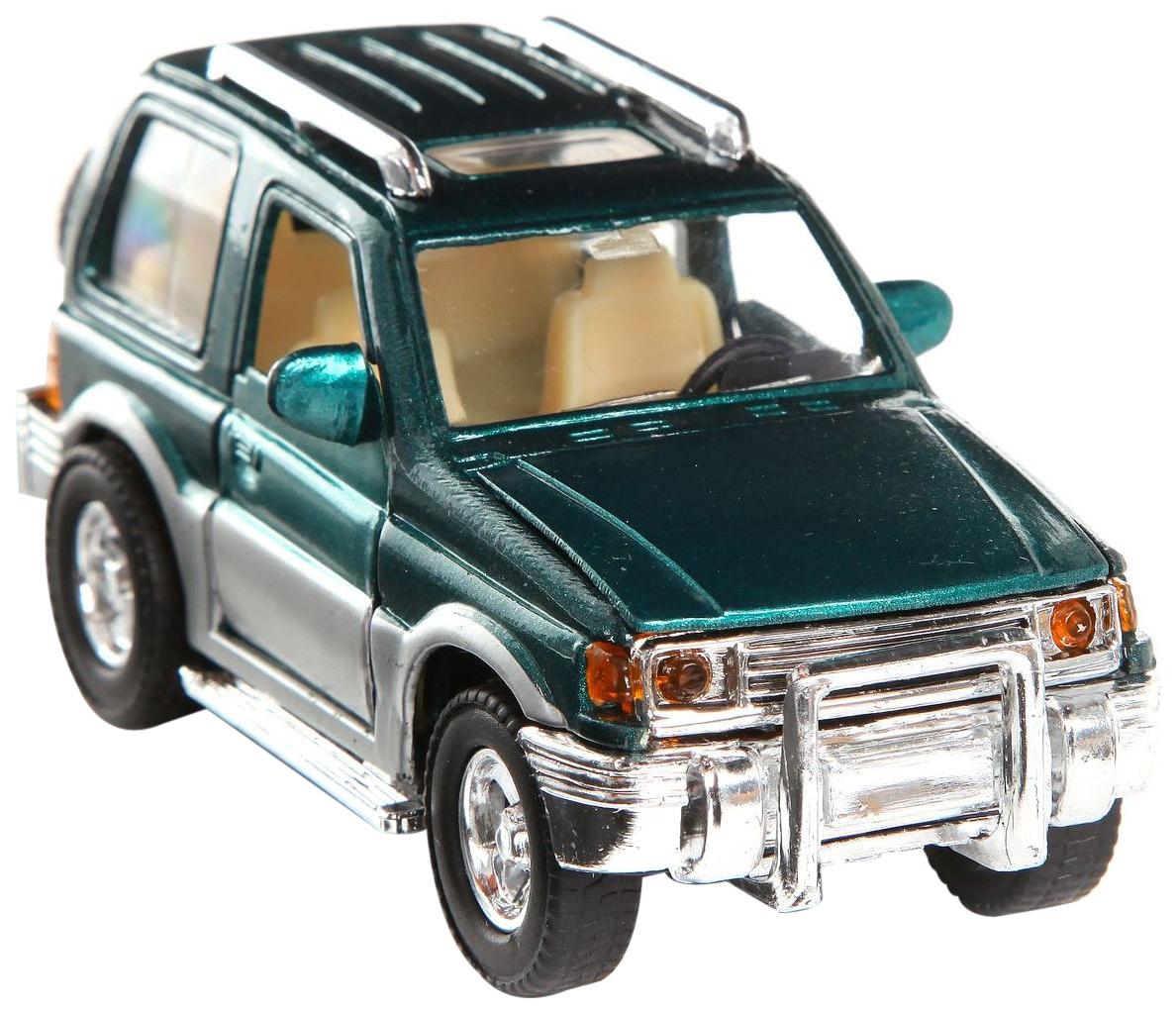 Игрушечная машинка Shenzhen toys Джип металлический road cruiser А30704