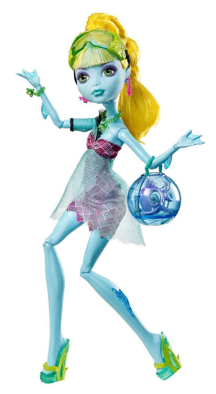 Купить Кукла Monster High Лагуна Блю - 13 желаний BBV48, Классические куклы