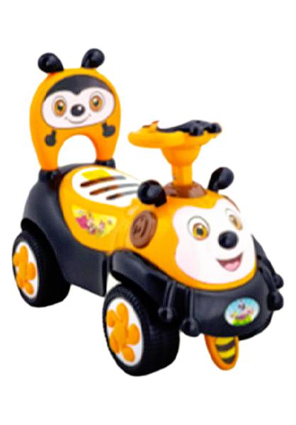 Купить Каталка детская Наша игрушка Машина Шмель 635929, Машинки каталки