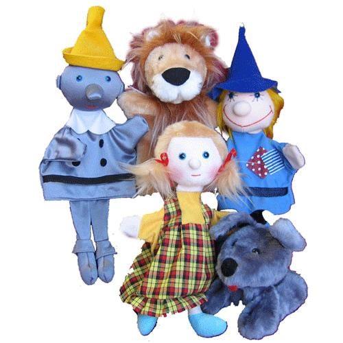 Игровой набор Тайга Кукольный театр Волшебник изумрудного города 5 персонажей