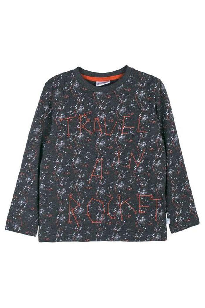 Купить Лонгслив для мальчиков COCCODRILLO р.116, Детские футболки, топы