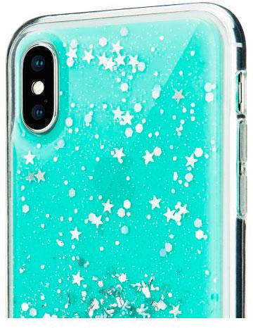 Чехол SwitchEasy Starfield для iPhone XS (Mint)