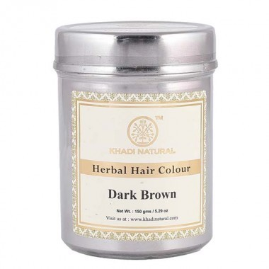 Хна для волос Khadi Natural темно коричневая
