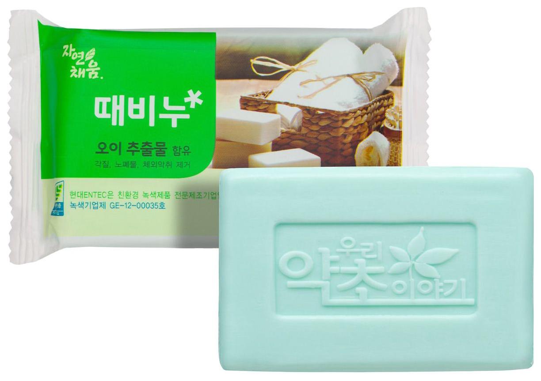 Косметическое мыло Korea С экстрактом огурца