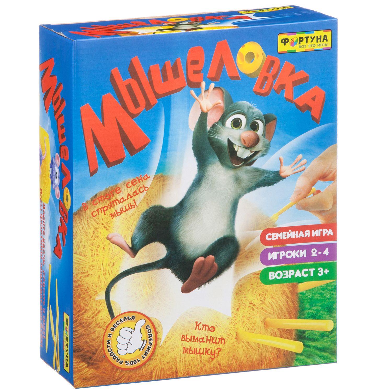 Купить Семейная настольная игра Фортуна Мышеловка Ф77174, Семейные настольные игры