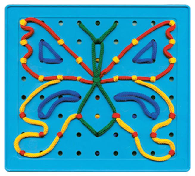 картинка Развивающая игрушка Десятое Королевство Шнуровальный планшет-1 00090ДК от магазина Bebikam.ru