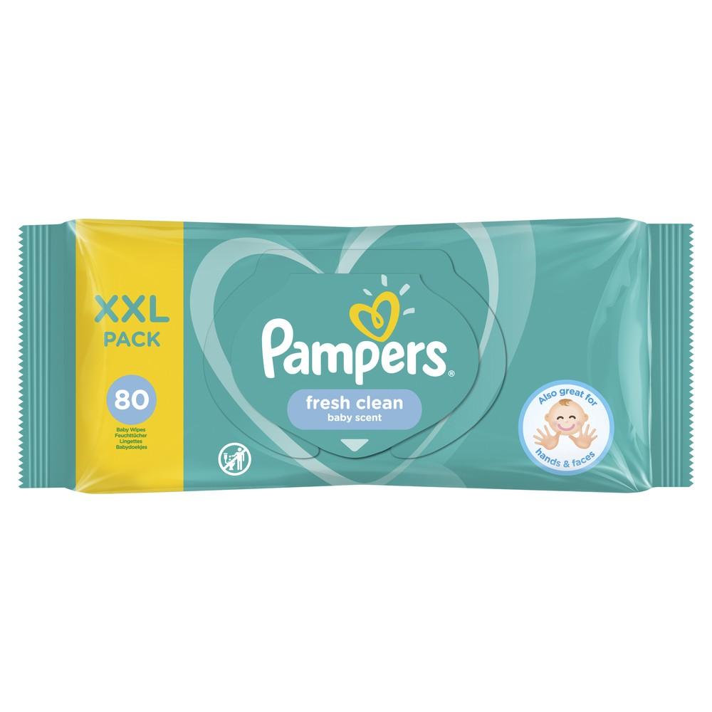 Купить Детские влажные салфетки Pampers Fresh Clean 80 шт.
