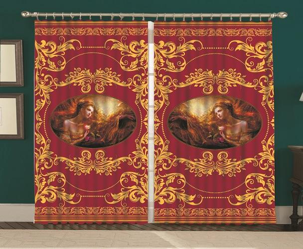 Комплект тюль MARTEX Золотая Византия