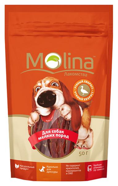 Лакомство для собак Molina Утиный хворост 50 г