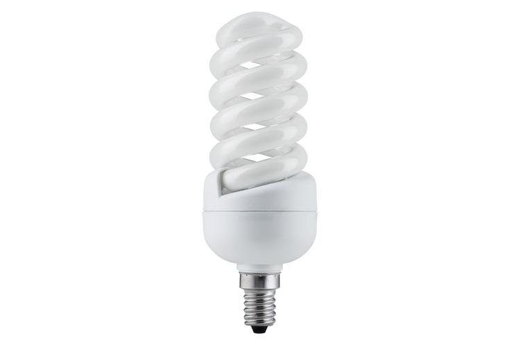 Лампа энергосбер. Спираль 20W E14 теплый бел. 89243